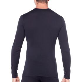 Icebreaker 200 Oasis Koszulka z długim rękawem Mężczyźni, black